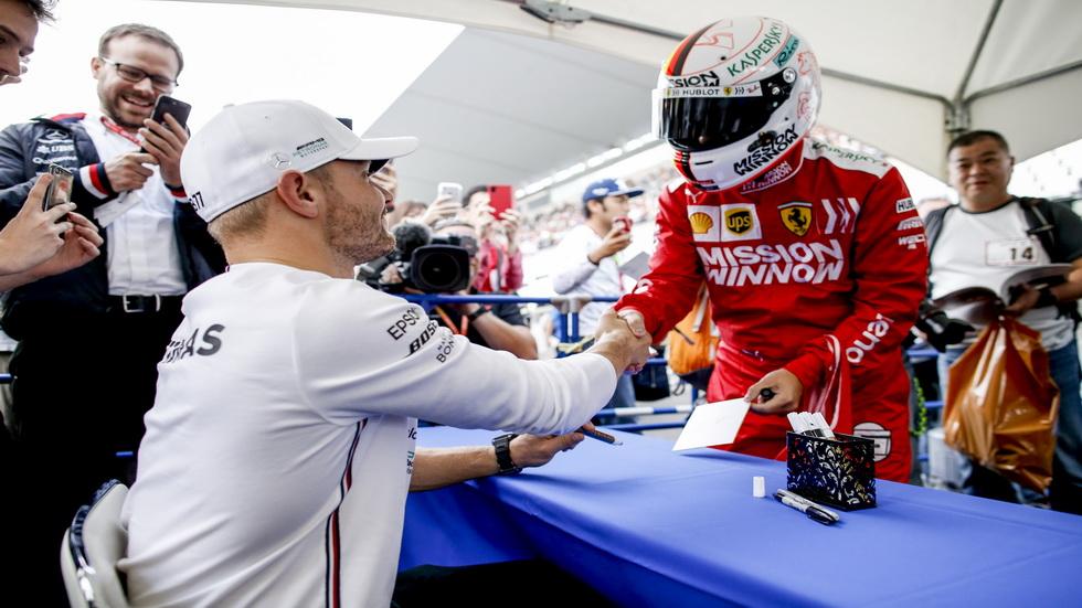 GP de Japón de F1 (FP2): los Mercedes siguen imbatibles en Suzuka