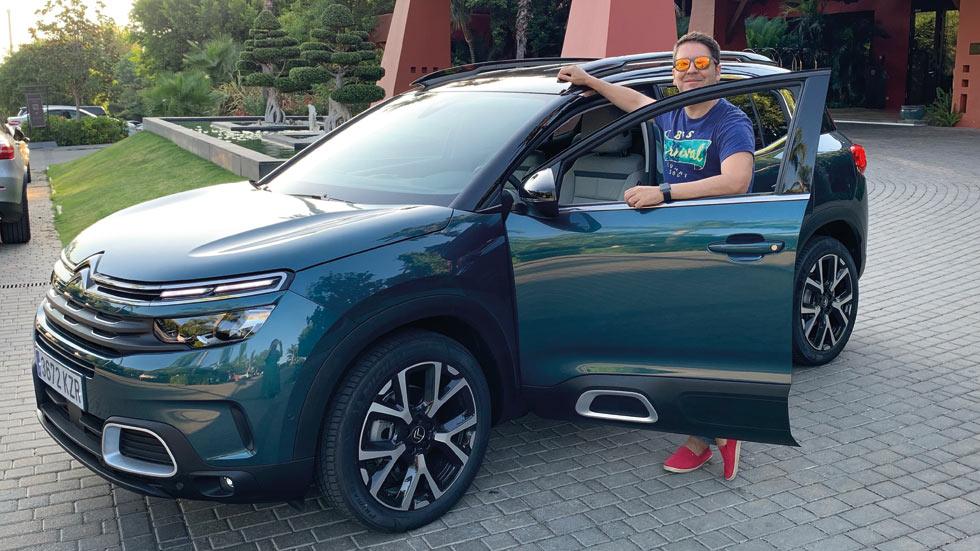 """Fin de semana con el Citroën C5 Aircross: más que """"confort"""""""