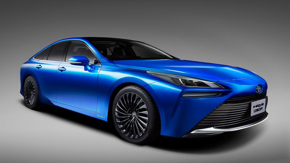 Toyota Mirai Concept: así será la nueva generación del eléctrico de hidrógeno