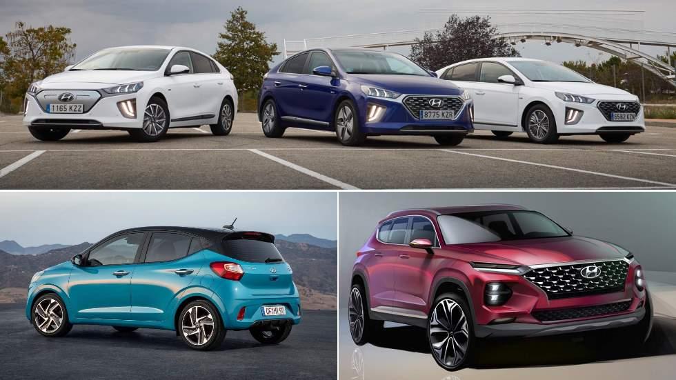 Las novedades de Hyundai de finales de 2019 y en 2020: Ioniq EV, i20, Tucson…
