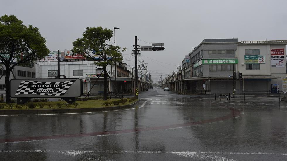 GP de Japón de F1: pequeño tifón