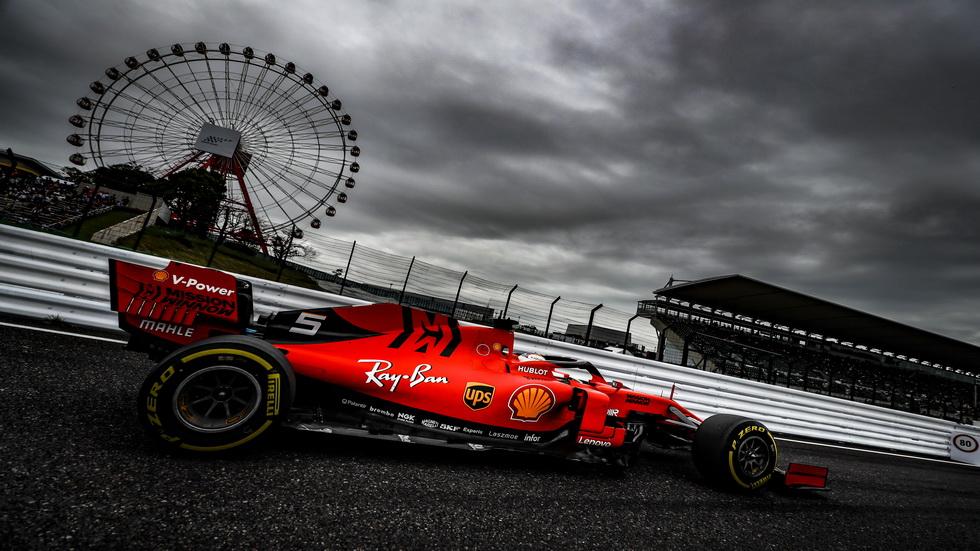 GP de Japón de F1: Sebastian Vettel partirá desde la pole position