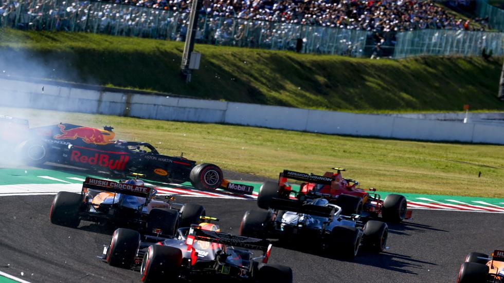 GP de Japón de F1: Leclerc sancionado con 5 segundos por su incidente con Verstappen