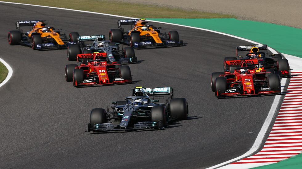 GP de Japón de F1: cambios en la clasificación final de la carrera