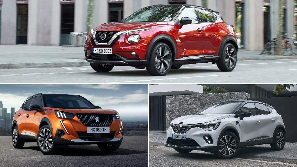 Nissan Juke, Peugeot 2008 y Renault Captur: la nueva lucha SUV que llega en 2020