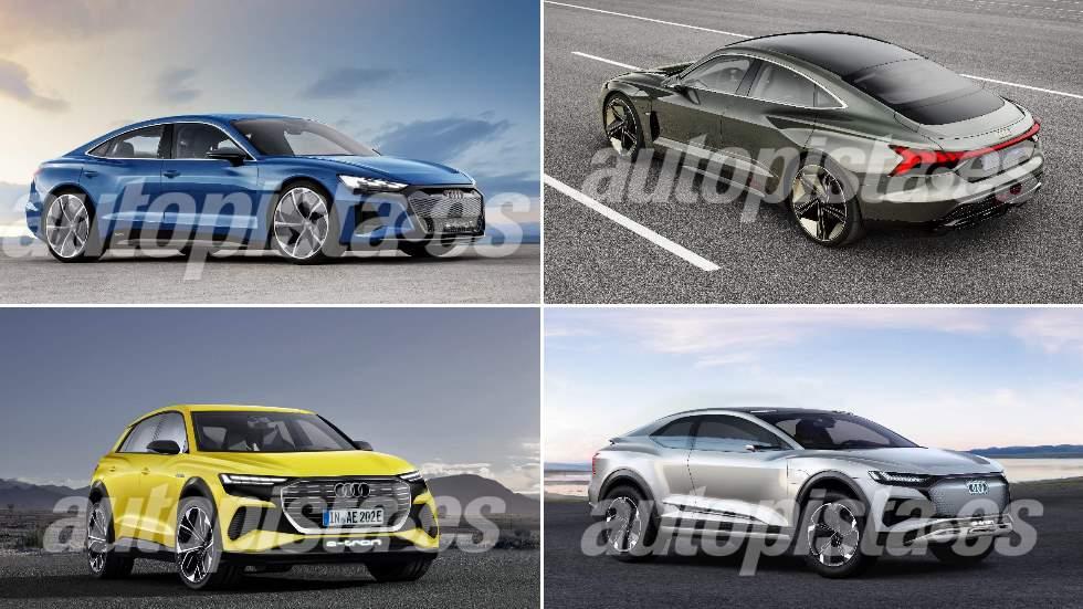 Revista Autopista 3.118: los nuevos Audi e-tron eléctricos que vienen (A2, Sportback, GT…)
