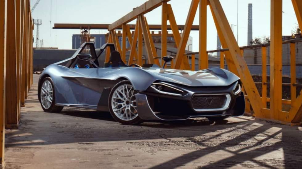 Kinetic 07: el deportivo eléctrico basado en un Caterham ¡e impreso en 3D!