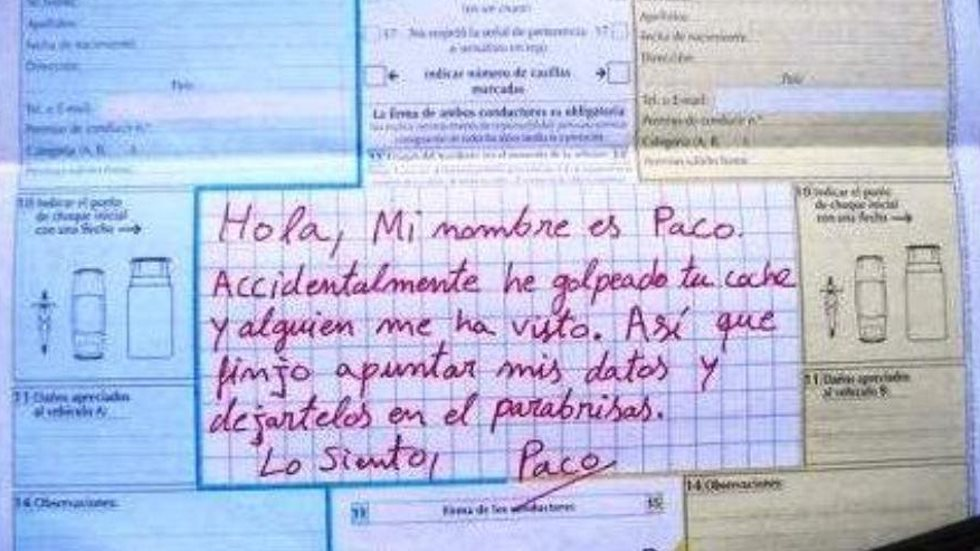"""No me seas Paco"": la Guardia Civil avisa de esta conducta incívica"