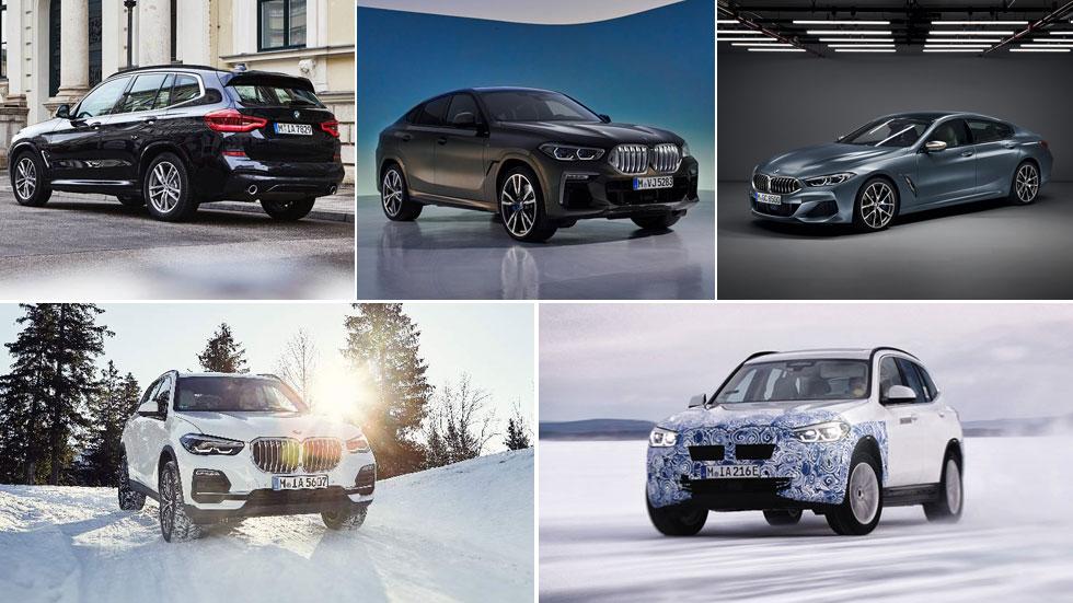 Serie 8 Gran Coupé, iX3 y X6, las novedades de BMW hasta finales de 2019