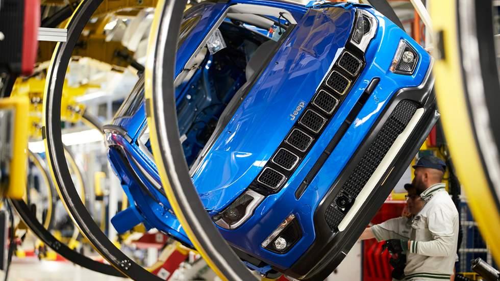 La planta FCA de Melfi, a punto para la producción del Jeep Compass y su versión híbrida enchufable