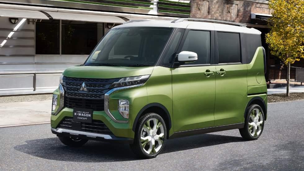 """Mitsubishi Super Height K-Wagon Concept: el """"coche cubo"""" familiar del futuro"""
