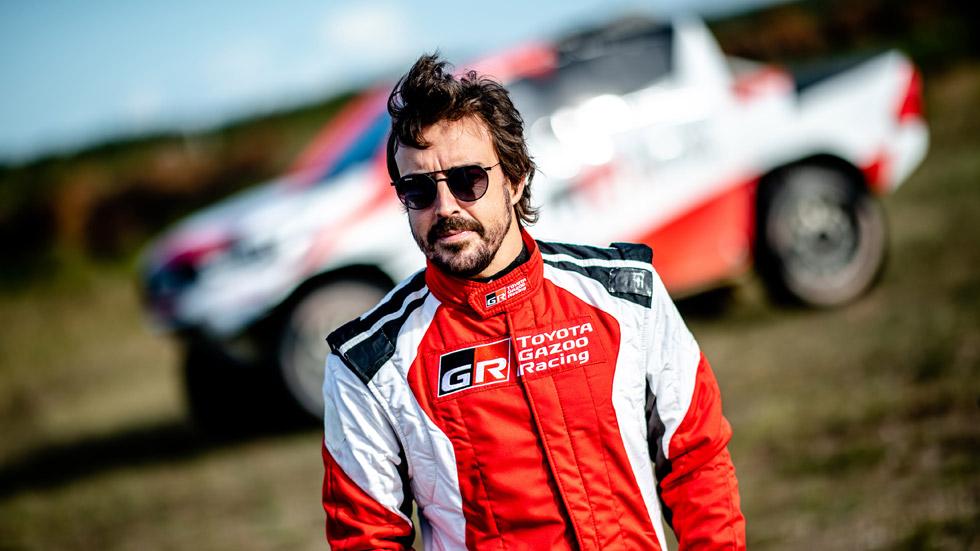 Oficial: Fernando Alonso correrá el Dakar 2020 con Toyota