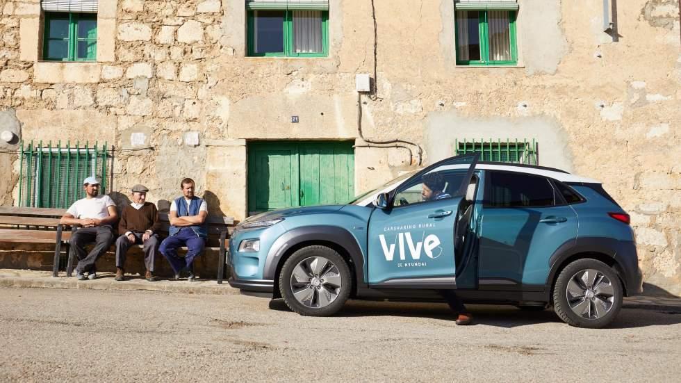 Hyundai VIVe: así es el primer carsharing eléctrico para la España rural (VÍDEO)
