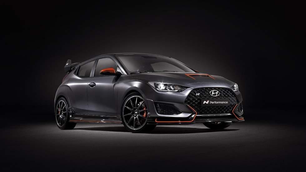 Hyundai Veloster N Performance Concept: más deportividad y fiereza para el compacto