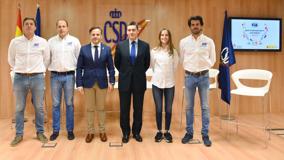 España, a por las medallas en los nuevos FIA Motorsport Games 2019