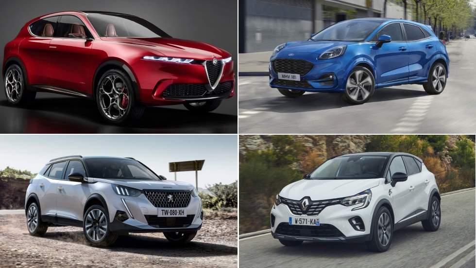 Los 10 mejores SUV pequeños de 2020: Alfa Tonale, Ford Puma, Peugeot 2008…