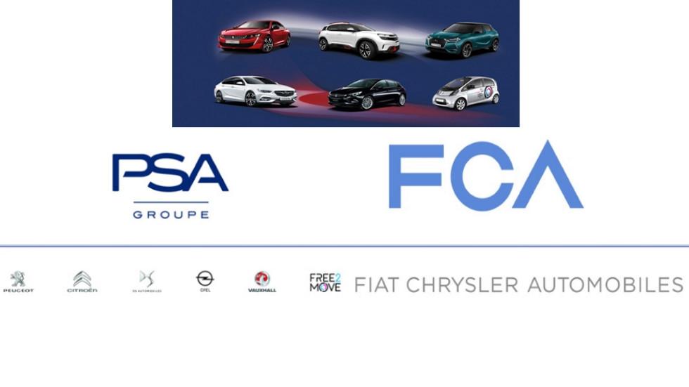 Oficial: los grupos PSA y Fiat FCA se fusionan y crean un nuevo gigante del automóvil