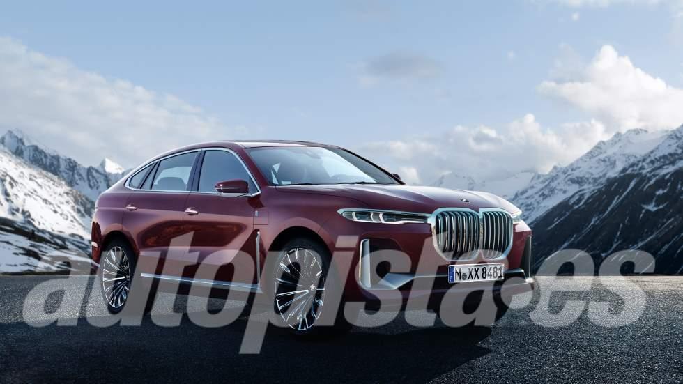 BMW X8: así será el gran SUV que llegará en 2020