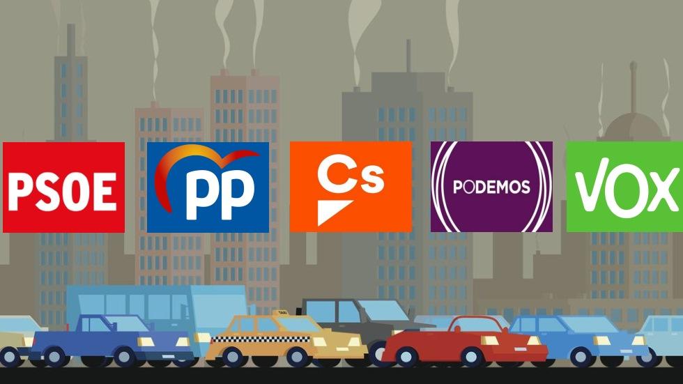 Elecciones Generales 10N: los partidos nos cuentan todos sus planes en movilidad