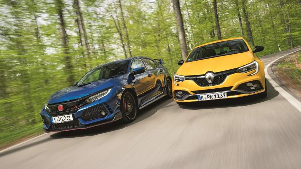 Honda Civic Type R vs Renault Mégane RS Trophy: buscamos el mejor deportivo