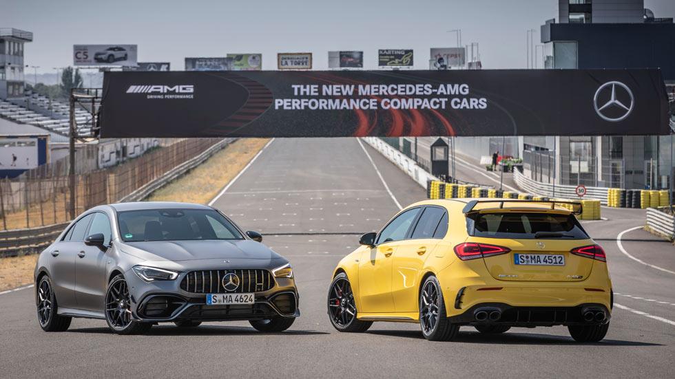 Mercedes-AMG A y CLA 45 S 4Matic+: los deportivos, ya a la venta en España
