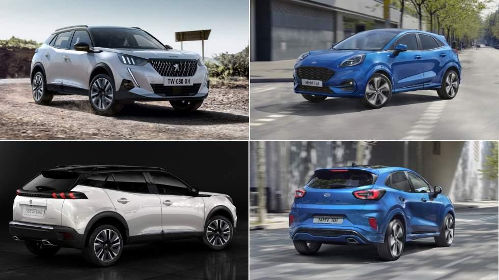 Ford Puma vs Peugeot 2008: el gran duelo de pequeños SUV en 2020