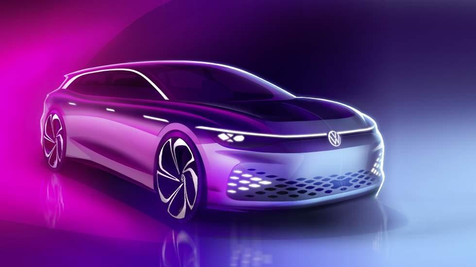 VW ID. Space Vizzion: el nuevo coche familiar eléctrico toma forma