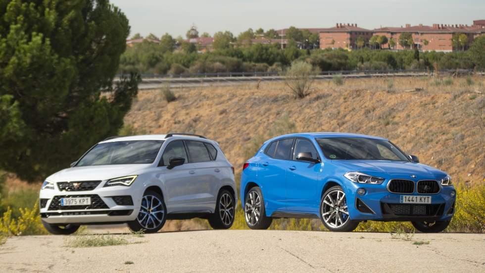 BMW X2 M35i vs Cupra Ateca: cuál es el mejor SUV deportivo