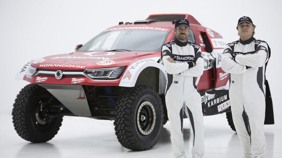 SsangYong Korando DKR, la nueva bestia de Óscar Fuertes para el Dakar 2020