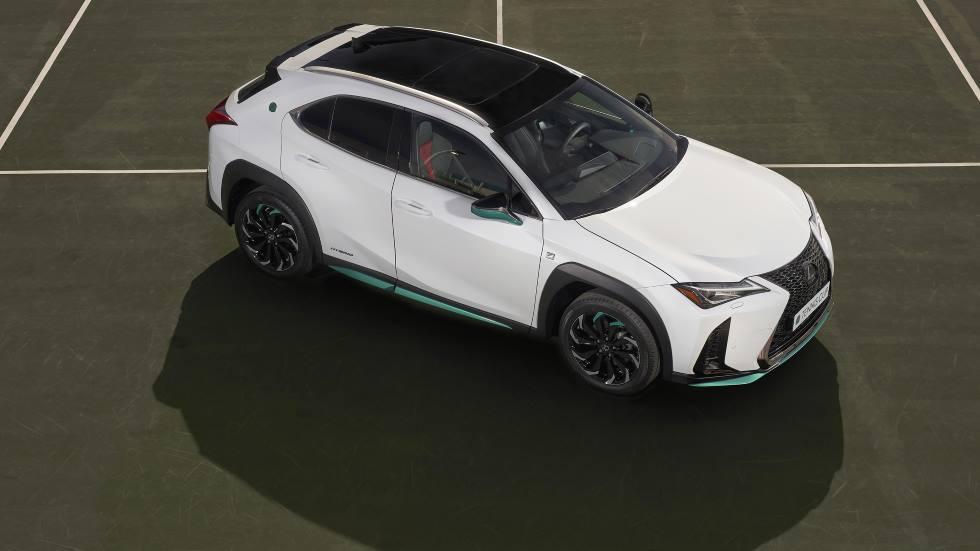"""Lexus UX 250h """"Tennis Cup"""" Edition: así es el nuevo SUV híbrido"""