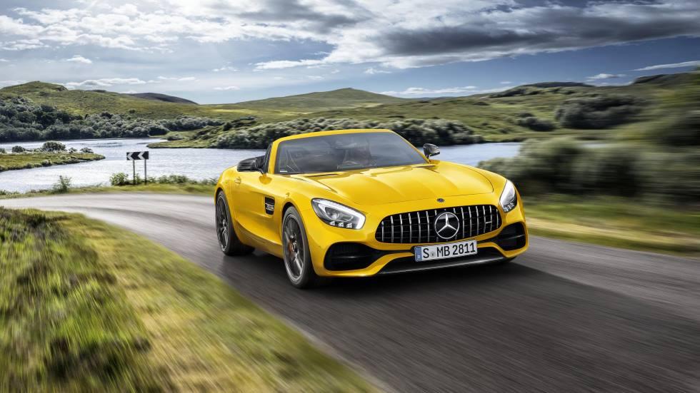 Mercedes-AMG GT S Roadster: nueva versión para el cabrio deportivo