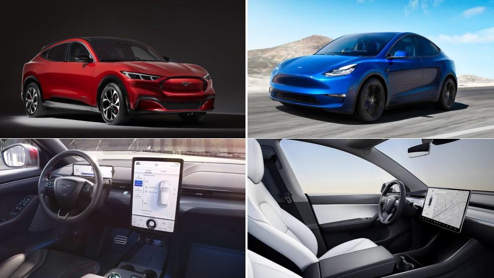 Ford Mustang Mach-E vs Tesla Model Y: duelo de nuevos SUV en 2020, ¿cuál es mejor?