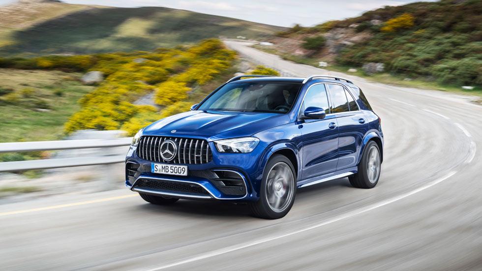 Nuevos Mercedes–AMG GLE y GLS 63 4MATIC+, apuestas deportivas en formato SUV