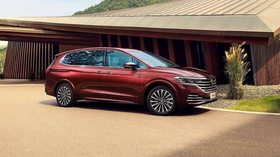 """Volkswagen Viloran 2020: así es el """"nuevo Sharan"""""""