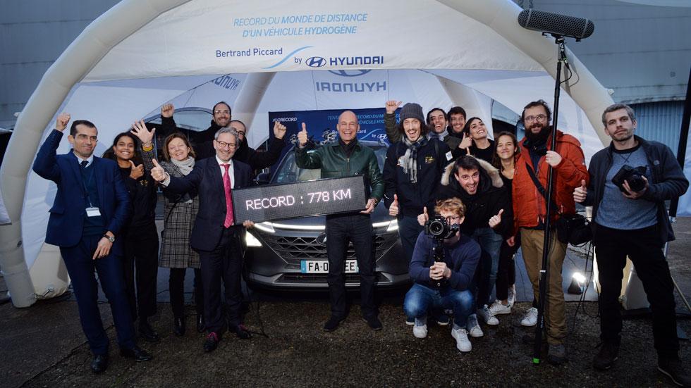 Hyundai Nexo: récord mundial de autonomía de un coche de hidrógeno