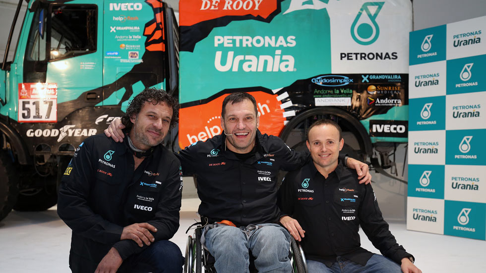 Albert Llovera, con Petronas en el próximo Dakar 2020