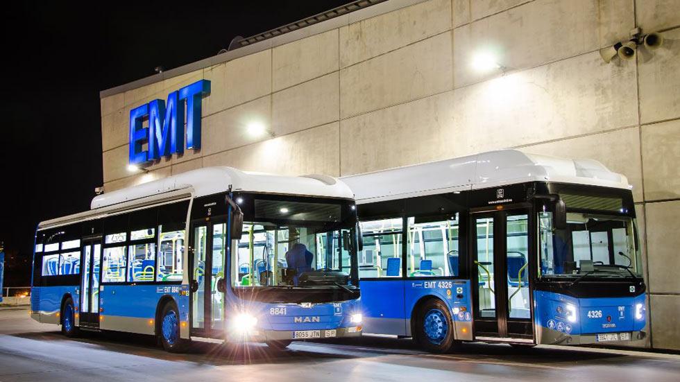 Los autobuses de la EMT ya aceptan pago con móvil y con tarjeta