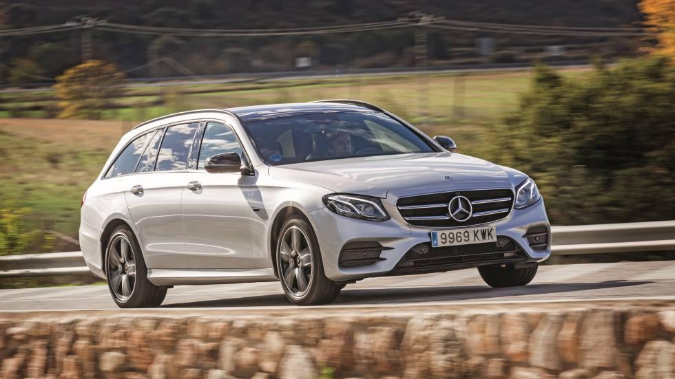 Mercedes E300 de Estate: prueba y análisis del familiar híbrido enchufable diésel