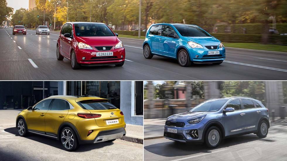 Los coches eléctricos e híbridos de Seat y Kia en 2020: el-Born, Tarraco, XCeed plug-in…