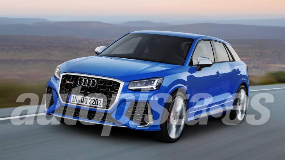 Audi RS Q2: primeros datos e imágenes del nuevo súper SUV deportivo