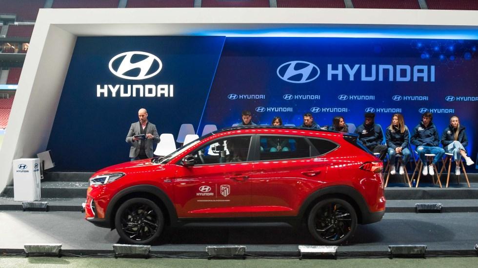 Hyundai Tucson Híbrido 48V N Line X: el nuevo SUV del Atlético de Madrid