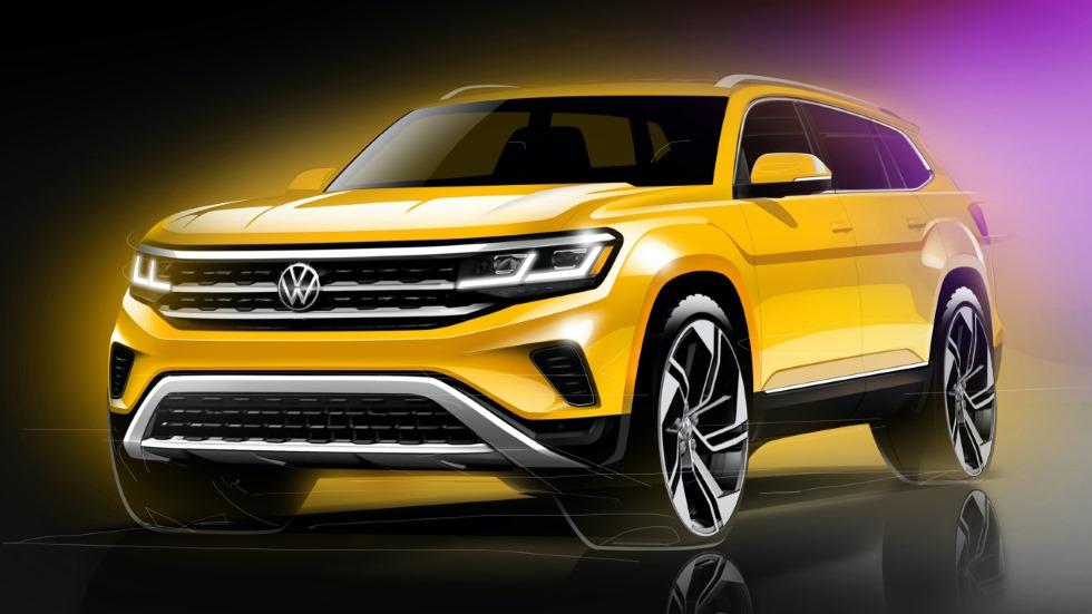 VW Atlas 2021: así será el nuevo gran SUV de Volkswagen