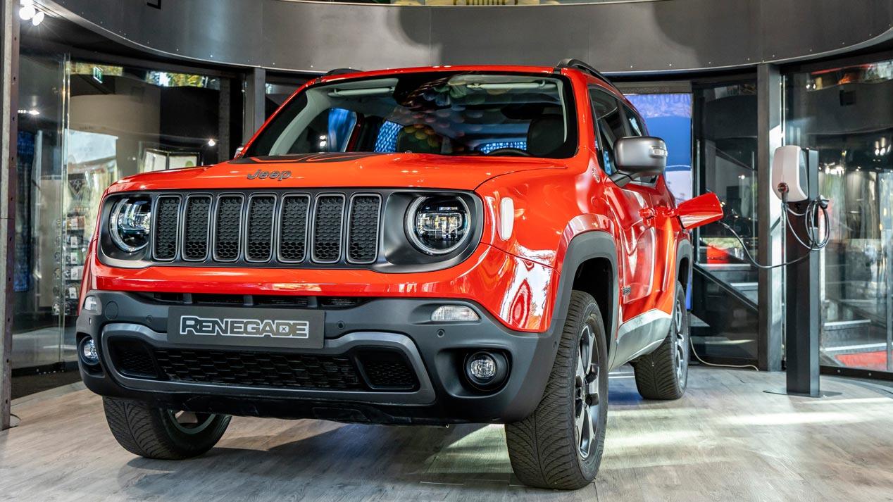 Jeep Renegade y Compass PHEV: nuevos datos de los SUV híbridos enchufables
