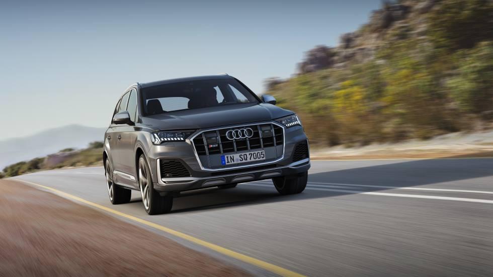 Audi SQ7 2020: el Q7 más extremo y deportivo, ya a la venta en España