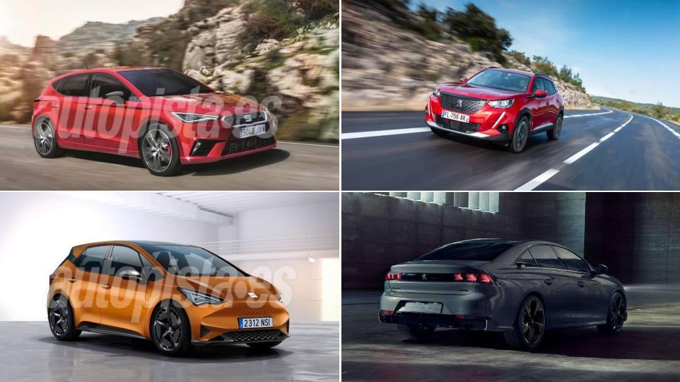 Todo lo nuevo de Seat y Peugeot en 2020: León, Ateca, 308, 3008…