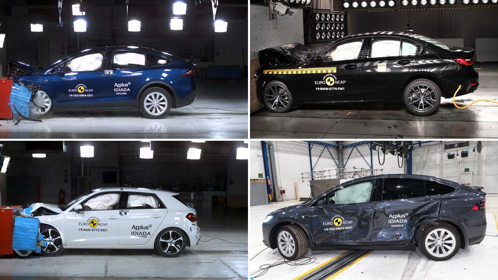 Los coches más seguros de 2019, según los test de choque Euro NCAP