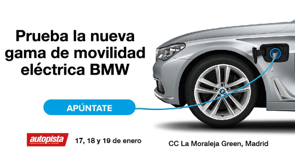 Prueba la gama de movilidad eléctrica de BMW gratis con Autopista.es