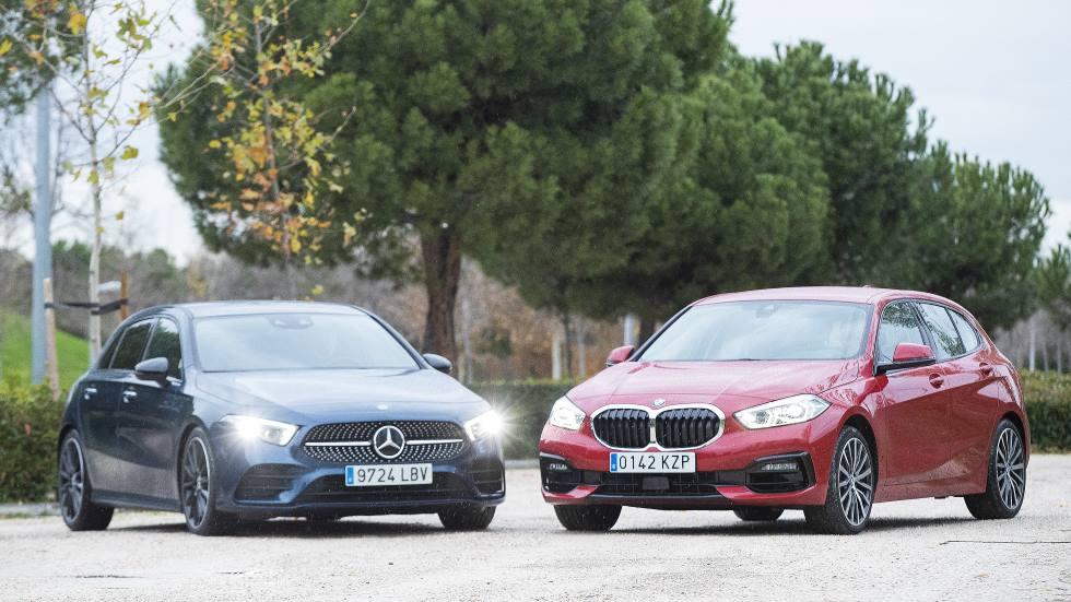 BMW Serie 1 118d vs Mercedes Clase A 200 d: qué compacto diésel premium es mejor
