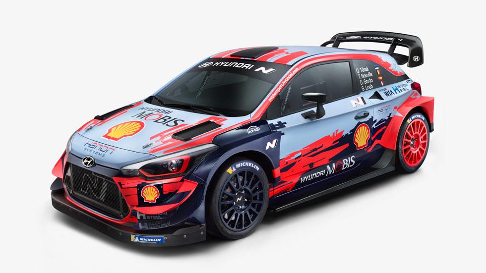 Mundial de Rallyes: Hyundai presenta su coche y equipo para 2020