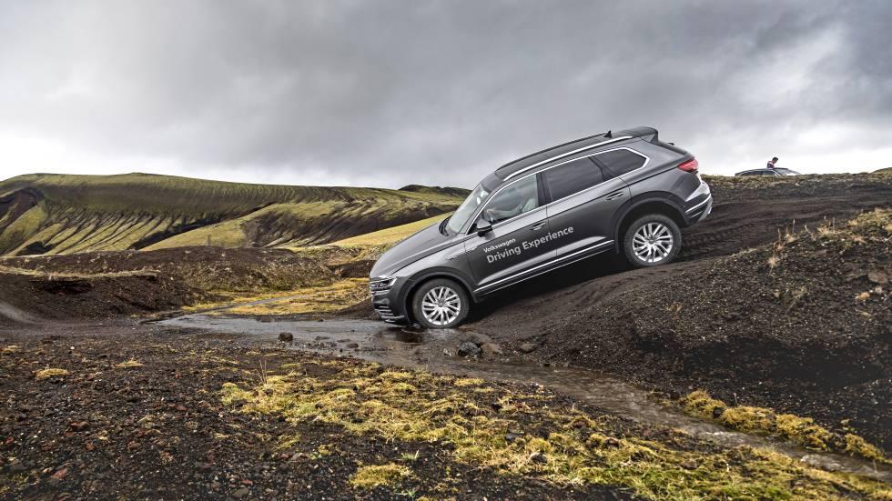 VW Touareg V8 TDI: probamos en Islandia la versión más potente del SUV